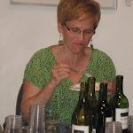 Artist member Pam Walker enjoying the Birthday Cake besides pouring wine.jpg