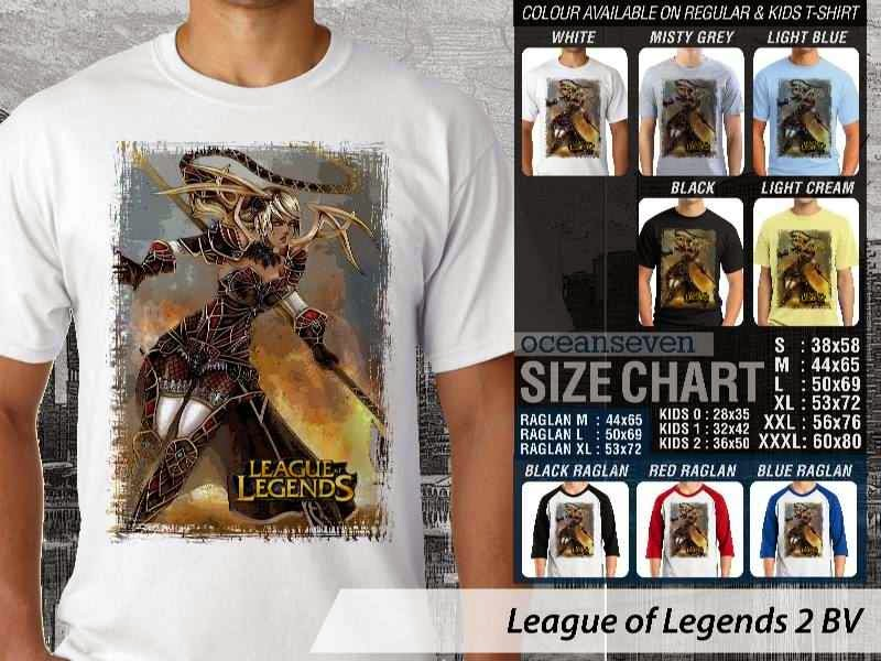 Kaos Game Online League of Legends 2 distro ocean seven