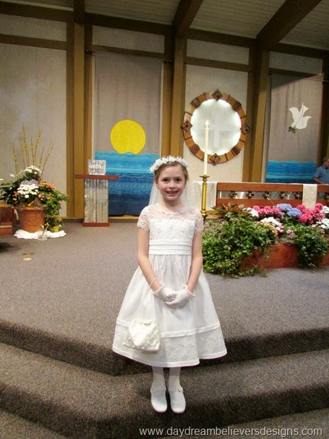 Personal. Celebrating First Holy Communion. Photos from Daydream Believers the blog