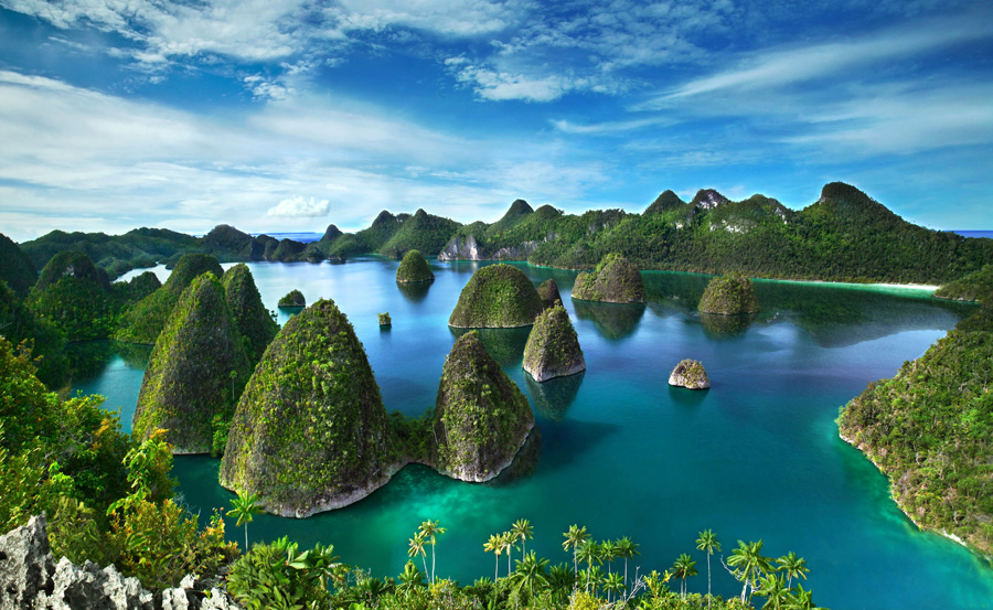 Heaven on Raja Ampat by Mpe'- Indra Prameswara - Landscapes Travel