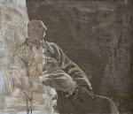 Carlo Mattioli | Autoritratto al chiaro di luna | 1971
