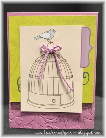 My Crush_blog hop_bird  birdcage card