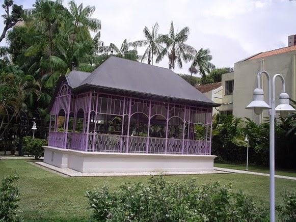 Coreto Pavilhão Frederico Rhossard - Belém do Parà