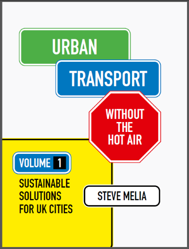 Urban Transport without the hot air - bookcover