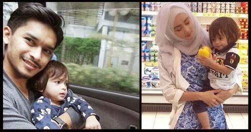 14 Gambar Terkini Anak Aeril Zafrel Dan Wawa Zainal Yang Pasti Mengejutkan Ramai Orang