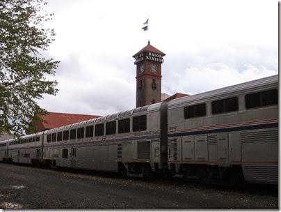 IMG_0088 Amtrak Superliner II Sightseer Lounge Car #33037 at Union Station in Portland, Oregon on October 23, 2009