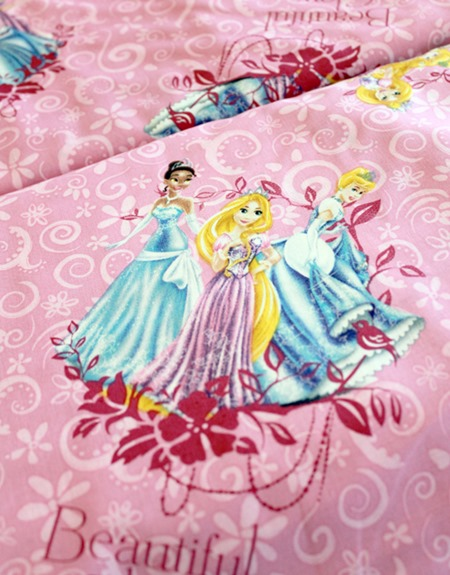 Disney Princess fabric 1