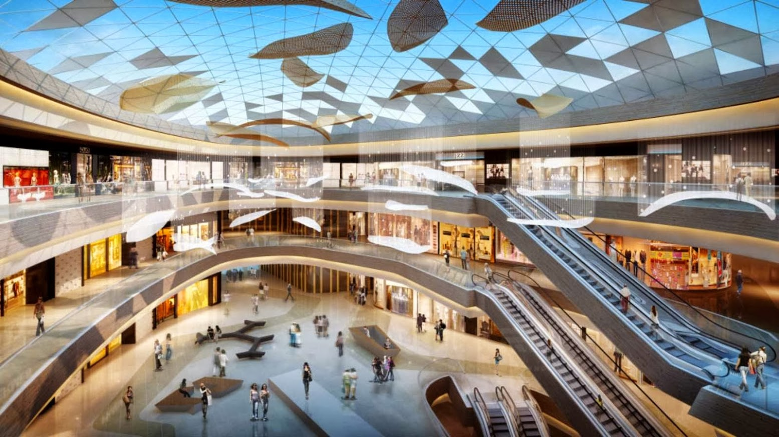 Sanya, Hainan, Cina: [HAITANG BAY INTERNATIONAL SHOPPING CENTRE BY HASSELL]