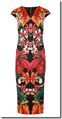 Ted Baker Tropical Toucan print dress