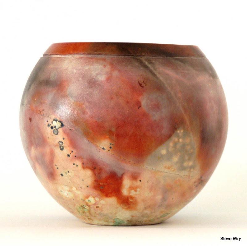 Sagger Fired Vase