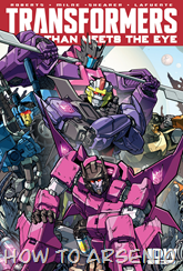 Actualización 25/10/2015: Transformers - More than Meets the Eye #45, traduce DarkScreamer, revisa Serika y maqueta Byjana.