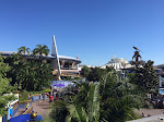 View of Tomorrowland from the Monorail station