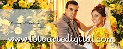 Album (digital) de fotos de Viviane e Rafael do estudio Foto Arte Digital, de Itaborai, RJ, que faz fotografia de casamentos (fotos de casamento), fotos de aniversario (fotografia de aniversario), fotos de 15 anos, fotos de criancas (fotografia infantil), fotos de eventos sociais, videos de casamento, videos de 15 anos, videos de making-of, videos de aniversario, video infantil (video de criancas) e videos de eventos sociais. Fotojornalismo e videojornalismo em Itaborai, RJ.