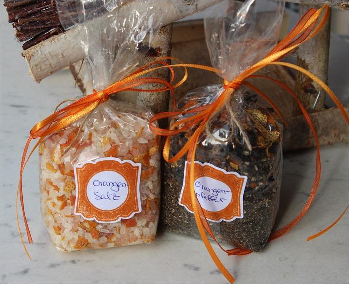 Orangensalz Orangenpfeffer DIY Gewürze selbstgemacht süße Verpackung 00