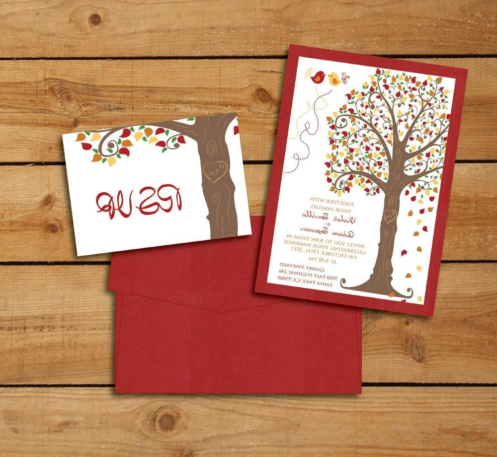 Love Tree - Wedding Invitation