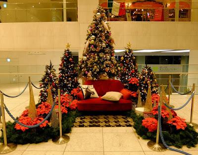 小田急センチュリーサザンタワーのクリスマスイルミネーション2015