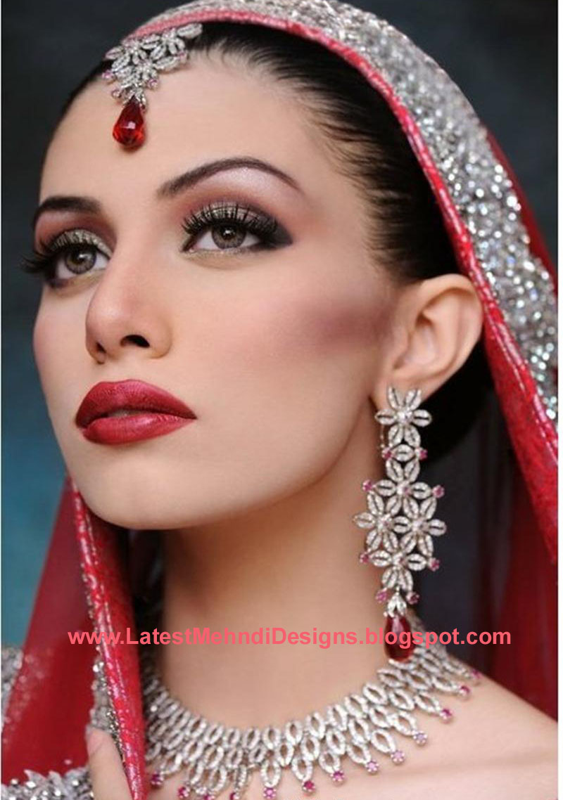Latest bridal makeup trends