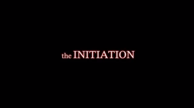 The Initiation halloween short film