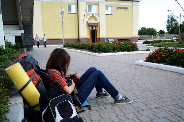 Вокзал в Ворожбе.