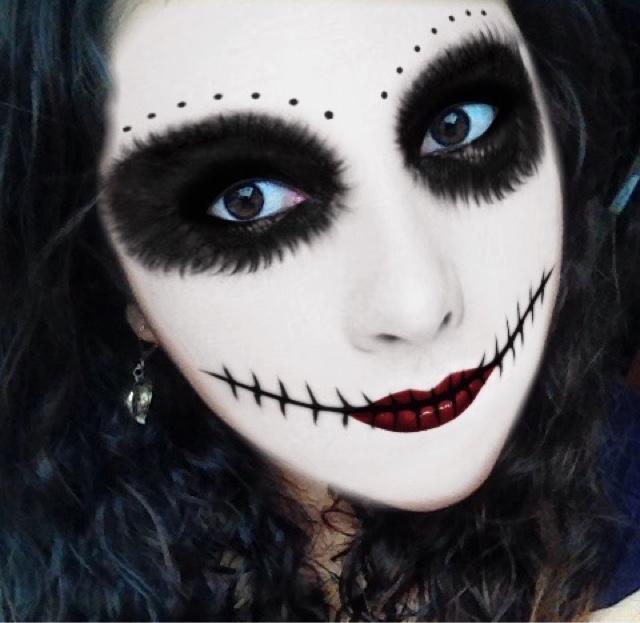 Blog Me Maquillaje Profesional De Halloween En Minutos - Maquillaje-profesional-halloween