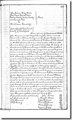 Parr Land Deed, Page 547