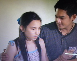 Kyline Alcantara and Neil Coleta in Ipaglaban Mo