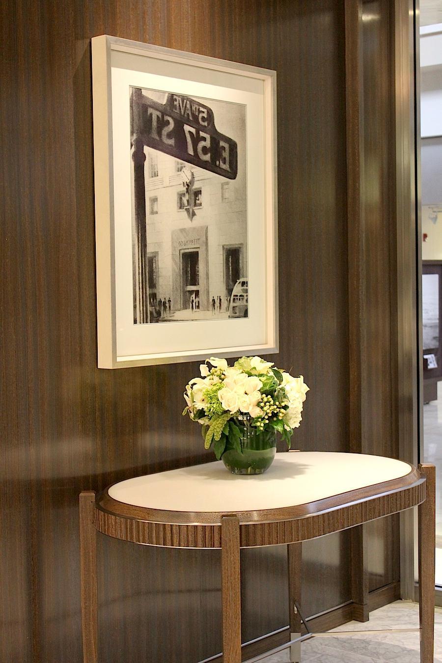 into the new Tiffany & Co,