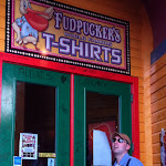At Fudpuckers, a restaurant we ate at in Destin FL 03192012d