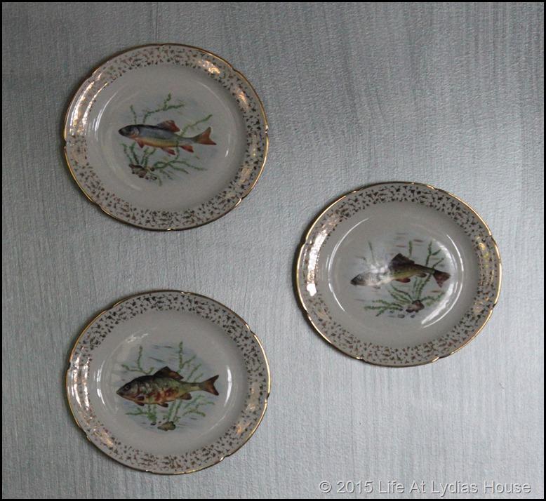 Limoges fish plates 3B