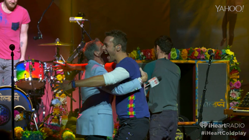 iHeart Radio Album Release Party Coldplay interview