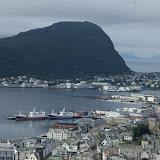 Uitzicht over Alesund.