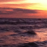 Sunset over the Gulf of Mexico in Destin FL 03232012k