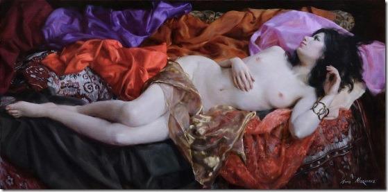 oriental motiv - Anna-Marinova - ENKAUSTIKOS