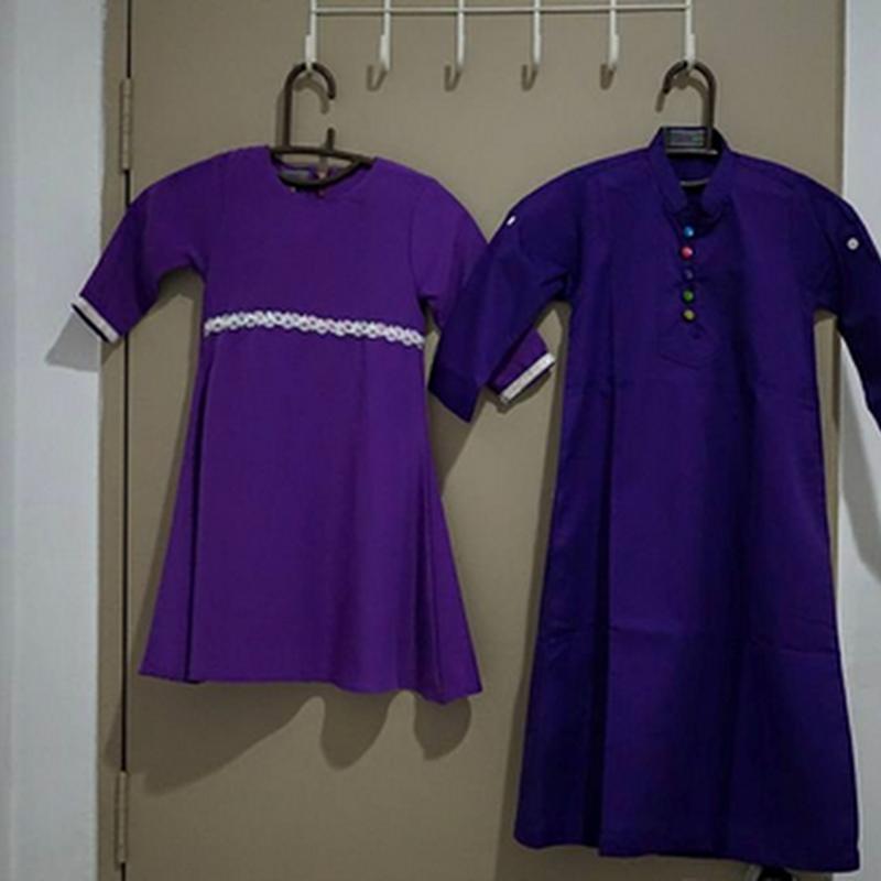 LEQEERSHA QAISER : Jubah dan baju kurung untuk anakku..