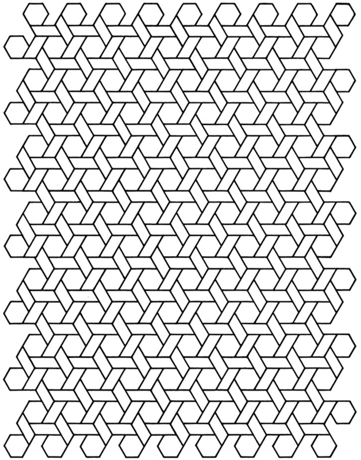 Printable Geometric Designs Coloring Pages - geometric coloring pages for kids