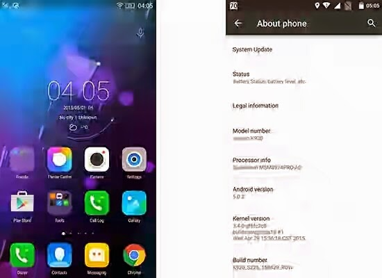 Lenovo started rolling out the Android 5.0 Lollipop