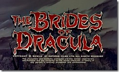 Brides of Dracula Title