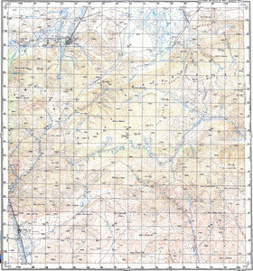 Map 100k--m46-008--(1984)