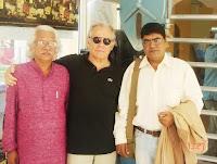 Adoor , Alain and Dirctor Sanjay sing.JPG