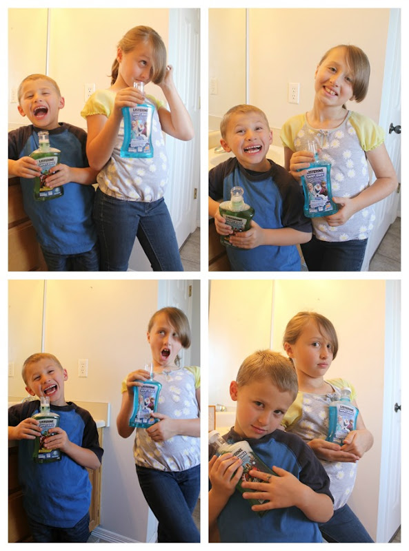kids and listerine