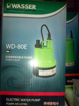Wasser WD 80E. Wasser Pompa Celup ...