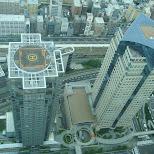 helipads on skyscrapers in yokohama in Yokohama, Tokyo, Japan