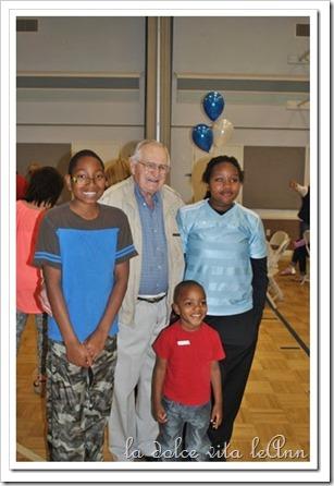 Grandpa and Great Grandkids
