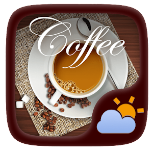 Coffee GO Weather Widget Theme