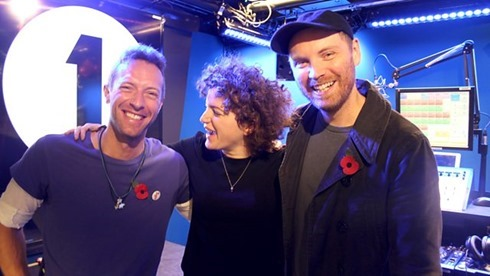 coldplay annie mac