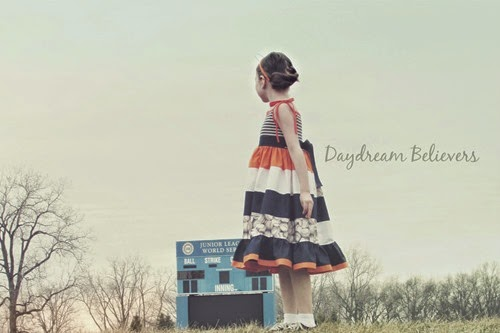 Daydream Believers for Create Kids Couture. The Ainsley Dress. Detroit Tigers Spirit Wear for Girls