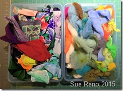 Sue Reno, 52 Ways to Look at the River, WIP 2