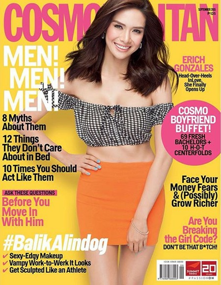 Erich Gonzales for Cosmo Sept. 2015