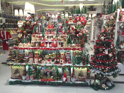 Christmas Decoration at AEON MALL