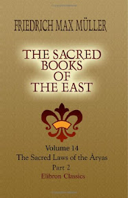 Cover of Friedrich Max Muller's Book The Sacred Books Of The East
